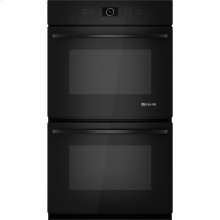 "Double Wall Oven with MultiMode® Convection, 30"", Black Floating Glass w/Handle"