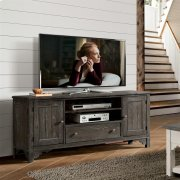 Grand Haven - 68-inch TV Console - Rich Charcoal Finish Product Image