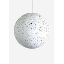 (LS) Luna decorative fiber pendant - Small..(14X14X14)..