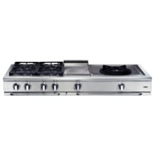 "Precision 60"" Gas Range Top"