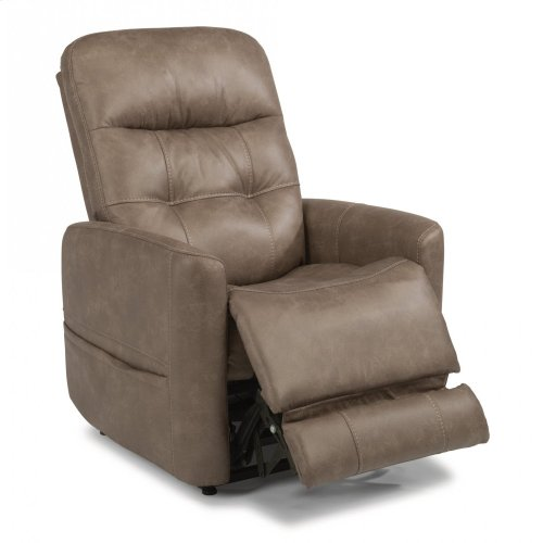 Kenner Fabric Power Lift Recliner with Power Headrest