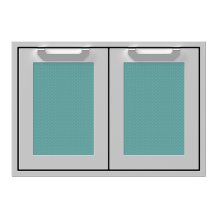 "30"" Hestan Outdoor Double Storage Doors - AGSD Series - Bora-bora"