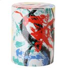 Kes Multicolor Garden Stool - Multi Product Image