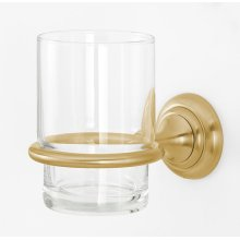 Charlie's Collection Tumbler Holder A6770 - Satin Brass