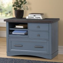 AMERICANA MODERN - DENIM Functional File with Power Center