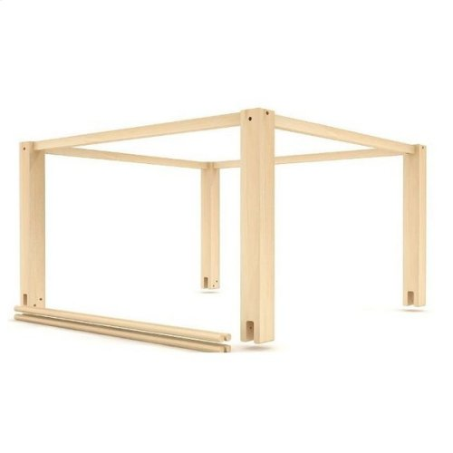 Top Tent Wood Frame (Twin) : Natural