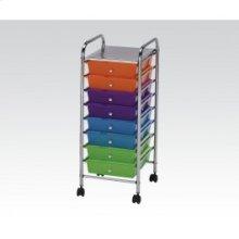 Storage Cart W/10 Drawers