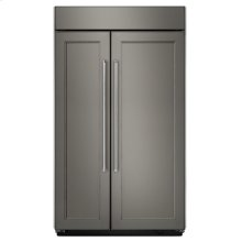 30.0 cu. ft 48-Inch Width Built-In Side by Side Refrigerator - Panel Ready