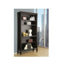 """Brooklyn 80"""" Bookcase With Doors"""