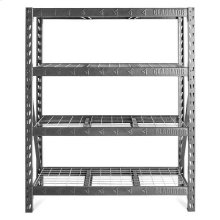 "60"" Wide Heavy Duty Rack with Four 18"" Deep Shelves"