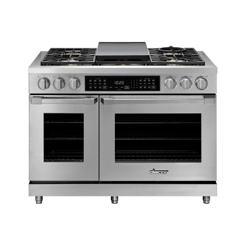 """48"""" Heritage Dual Fuel Pro Range, DacorMatch Natural Gas/High Altitude"""