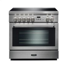 AGA Professional 36 Induction Stainless Steel with Chrome trim