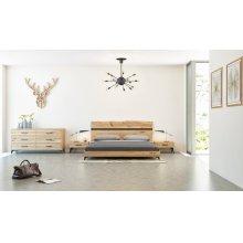 Nova Domus Alan Modern Drift Oak Bedroom Set