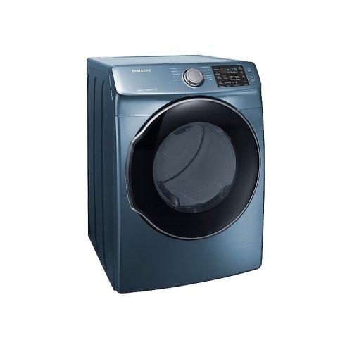 7.5 cu. ft. Electric Dryer in Azure Blue
