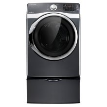 7.5 cu. ft. Capacity Gas Steam Dryer (Onyx)