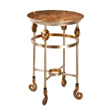 Armory Short Accent Table