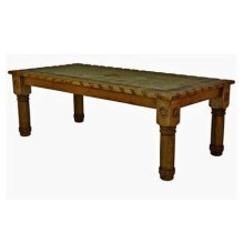 7' Table W/Rope,Stone&Star