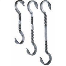 Twist Extender Iron Hook 12 Inch