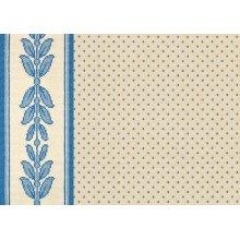 Kinsale - Dresden Blue on White 0695/0003