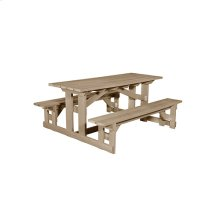T52 Rectangular Picnic Table