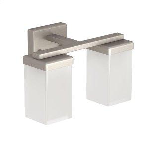 90 Degree brushed nickel bath light Product Image