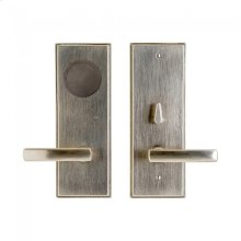Stepped Card Lock Trim Silicon Bronze Brushed