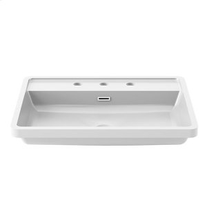 Bathroom sink for widespread faucet - White castylat Product Image