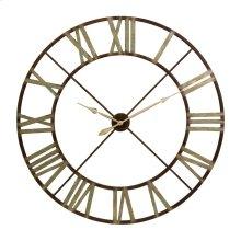 Jasper Iron Wall Clock