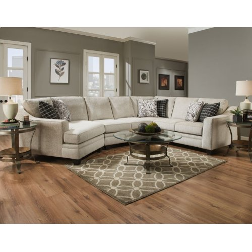3900 - Endurance Oatmeal 3PC Sectional