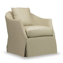 Amy Slipcover Swivel Glider - Windfield Natural