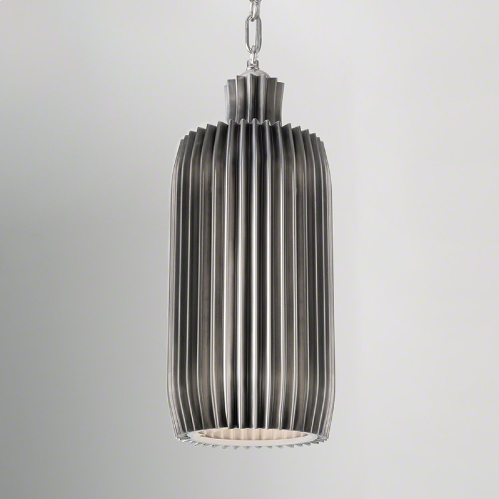 Crimp Bar Pendant-Antique Nickel