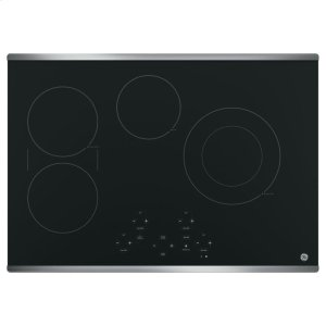 """GE® 30"""" Built-In Touch Control Electric Cooktop Product Image"""