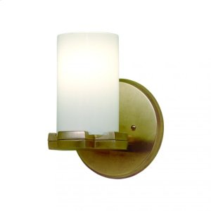 Truss Sconce - Round Globe - WS410 Silicon Bronze Brushed Product Image
