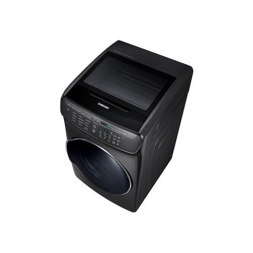7.5 cu. ft. FlexDry Electric Dryer in Black Stainless Steel
