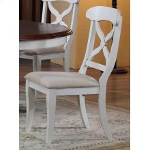 DLU-ADW-C12-AW-2  Andrews Dining Chair  Antique White  Set of 2