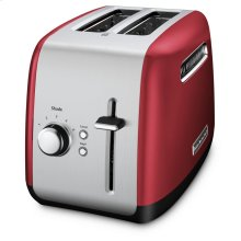 2-Slice Toaster with manual lift lever - Empire Red