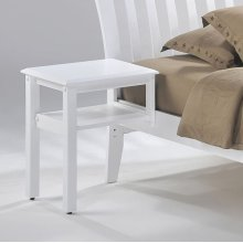 Hook-on Nightstand Spice:White