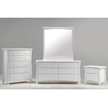 CLOVE NIGHTSTAND-WHITE FINISH