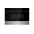 "NOIR 24"" Under Counter Microwave Oven with Drawer Design Product Image"