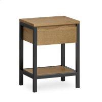 Waxed Oak Nighstand Product Image
