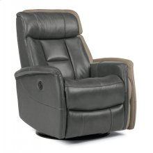 Hart Leather Queen Power Swivel Gliding Recliner