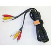 Composite Audio/Video Cable (9ft/3m)