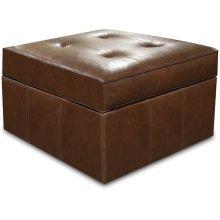 Leather Cohin Storage Ottoman 4G081AL