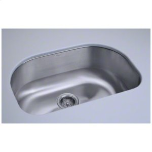 """Cinch® 26.4"""" x 16.8"""" x 9"""" Undercounter D-Bowl Sink Product Image"""