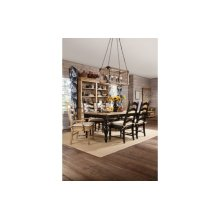 Farmhouse Leg Table Black