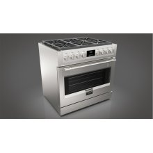"""36"""" ALL GAS PRO RANGE - STAINLESS STEEL"""