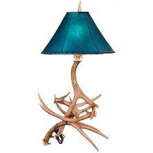 Antler Table Lamp No Shade