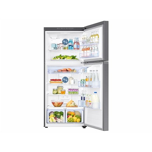 18 cu. ft. Top Freezer Refrigerator with FlexZone in Stainless Steel