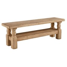 Wheat Danish Hall Bench