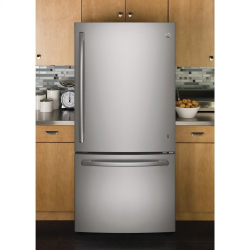 GE® ENERGY STAR® 24.8 Cu. Ft. Bottom-Freezer Drawer Refrigerator